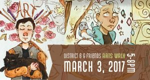 District 6 & Friends Arts Walk @ Downtown Greeley