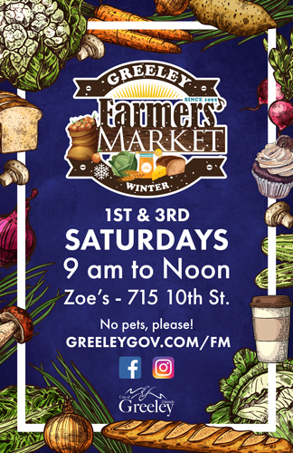Winter Farmers' Market - Canceled @ Zoe's Café & Events | Greeley | Colorado | United States