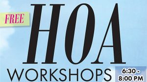 HOA Workshop: Do's and Don'ts of Architecture Guidelines @ Family FunPlex | Greeley | Colorado | United States