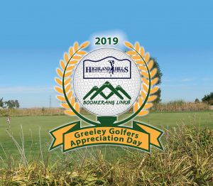 Greeley Golfers Appreciation Day @ Boomerang Links Golf Course