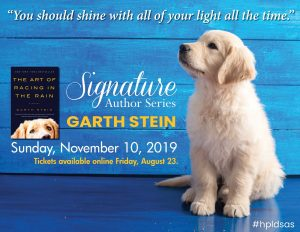 2019-Signature-Author-Garth-Stein