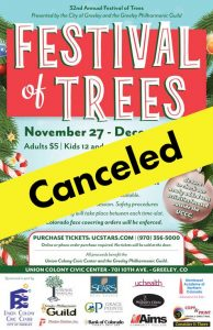 Festival of Trees - Canceled @ Union Colony Civic Center